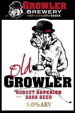 Growler Brewery Old Growler Robust Dark Beer