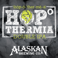 Alaskan Hopothermia Double IPA label