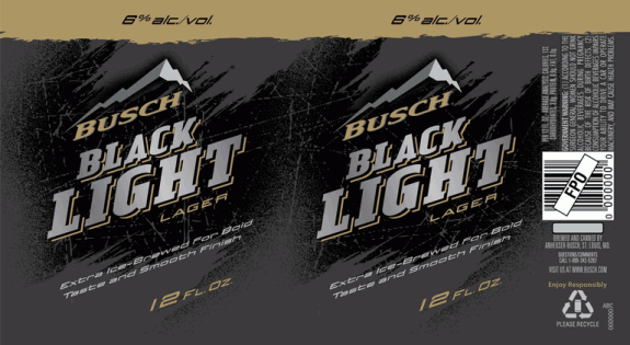 Busch Black Light Lager