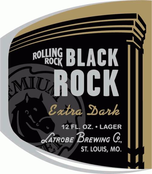 Rolling Rock Black Rock Extra Dark Lager