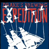 Drake's Exxpedition Imperial Red Ale label