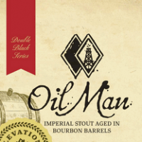 Elevation Oil Man beer label