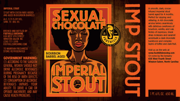 Foothills Bourbon Barrel Aged Sexual Chocolate Imperial Stout