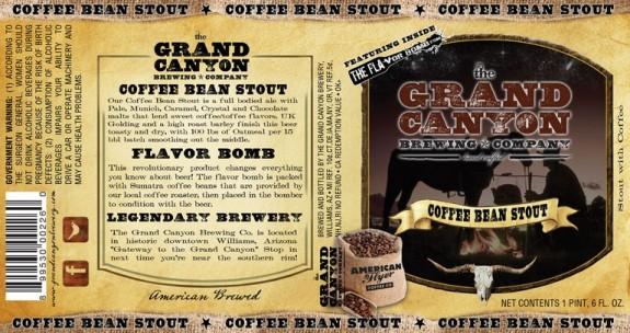 Grand Canyon Coffee Bean Stout