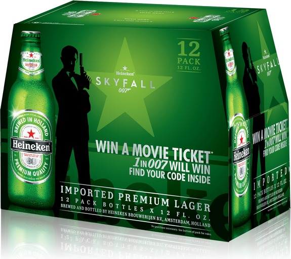 Heineken launches James Bond SKYFALL marketing campaign with first ...