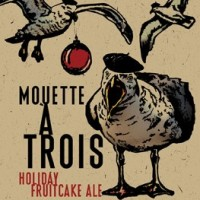 Karl Strauss Mouette a Trois Holiday Fruitcake Ale