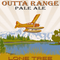 Lone Tree Outta Range Pale Ale label