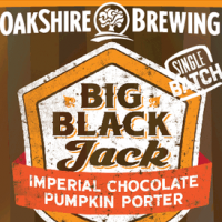 Oakshire Big Black Jack Imperial Chocolate Pumpkin Porter