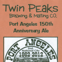 Twin Peaks Port Angeles 150th Anniversary Ale