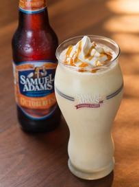 Samuel Adams Oktoberfest Milkshake pic