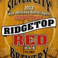 Silver City Ridgetop Rye Whiskey Barrel Aged Imperial Red Ale