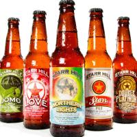 Starr Hill Brewery bottles shot crop