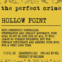 The Perfect Crime Hollow Point Quadruple