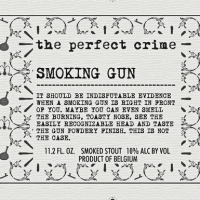 The Perfect Crime Smoking Gun Smoked Stout
