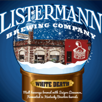 Listermann White Death Bourbon Barrel-aged Ale