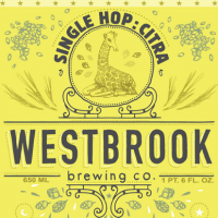Westbrook Single Hop Citra Rye Pale Ale