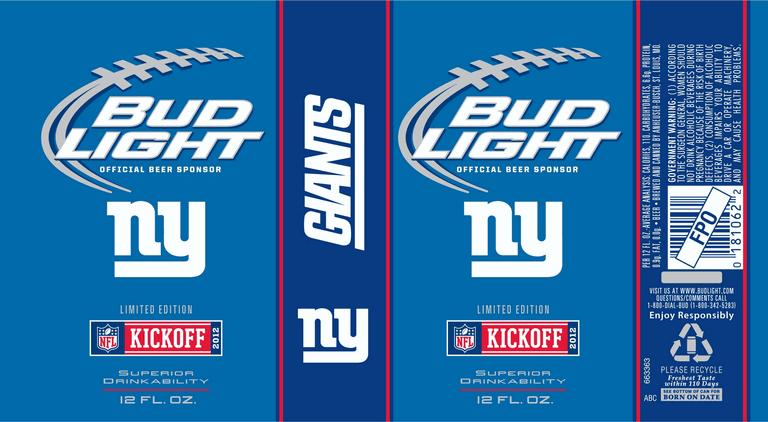 All 28 Nfl 2012 Season Bud Light Team Cans Beerpulse