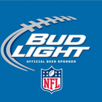 NFL Bud Light can