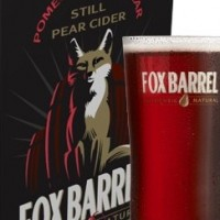 fox barrel pomegranate cider box
