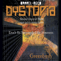Greenbush Whiskey Barrel-aged Dystopia Russian Imperial Stout