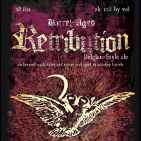 Greenbush Whiskey Barrel-aged Retribution Belgian Ale