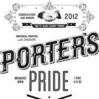 porters pride gabf beer label