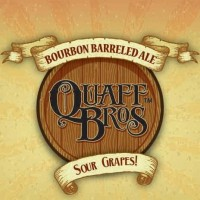Quaff Bros Sour Grapes! Whiskey Barrel-aged Brown Ale