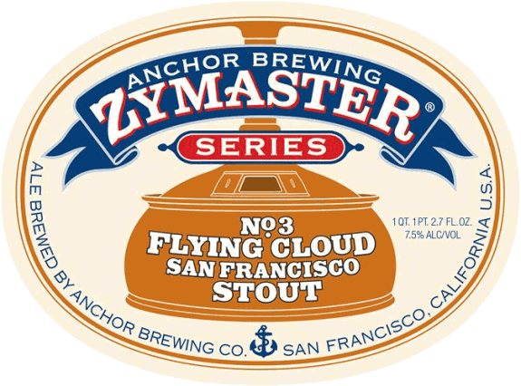 Anchor Flying Cloud San Francisco Stout Zymaster Series No. 3