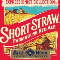 Blue Moon Short Straw Farmhouse Red Ale