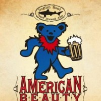 Dogfish Head American Beauty Grateful Dead label