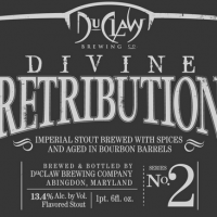 DuClaw Divine Retribution Bourbon Barrel Imperial Stout 2
