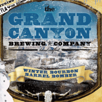 Grand Canyon Winter Bourbon Barrel Bomber Brown Ale