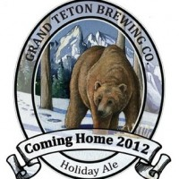 Grand Teton Coming Home Holiday Ale 2012