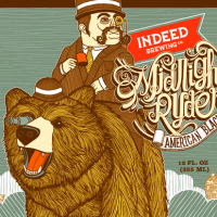 Indeed Midnight Ryder American Black Ale