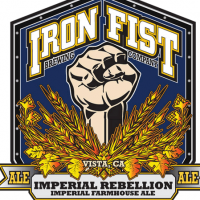Iron Fist Imperial Rebellion Imperial Farmhouse Ale