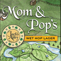 Jack's Abby Mom & Pop's Wet Hop Lager