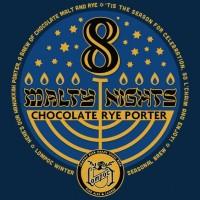 Lompoc 8 Malty Nights Chocolate Rye Porter