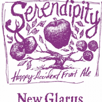 New Glarus Serendipity Ale label