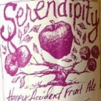 New Glarus Serendipity label