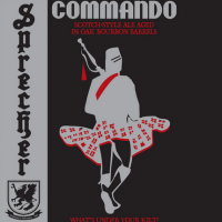 Sprecher Commando Bourbon Barrel Aged Scotch Ale