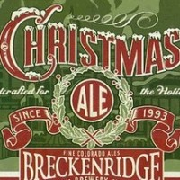 breckenridge christmas ale label square
