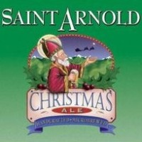 saint arnold christmas ale label