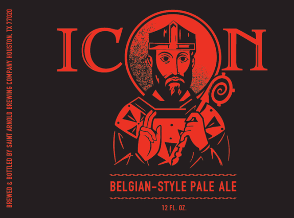 saint arnold icon red belgian pale ale