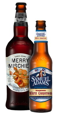 samuel adams merry mischief and white christmas