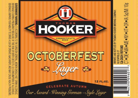 thomas hooker octoberfest label