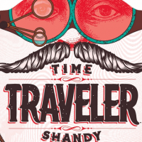 time traveler shandy label