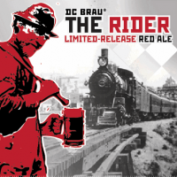 dc brau the rider 22oz bottle