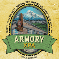 Deschutes Armory 22oz Label