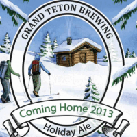 Grand Teton Coming Home Holiday Ale 2013