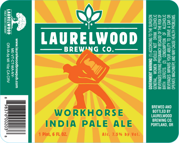 Laurelwood workhorse ipa returns to mainstream retail and for Laurel wood
